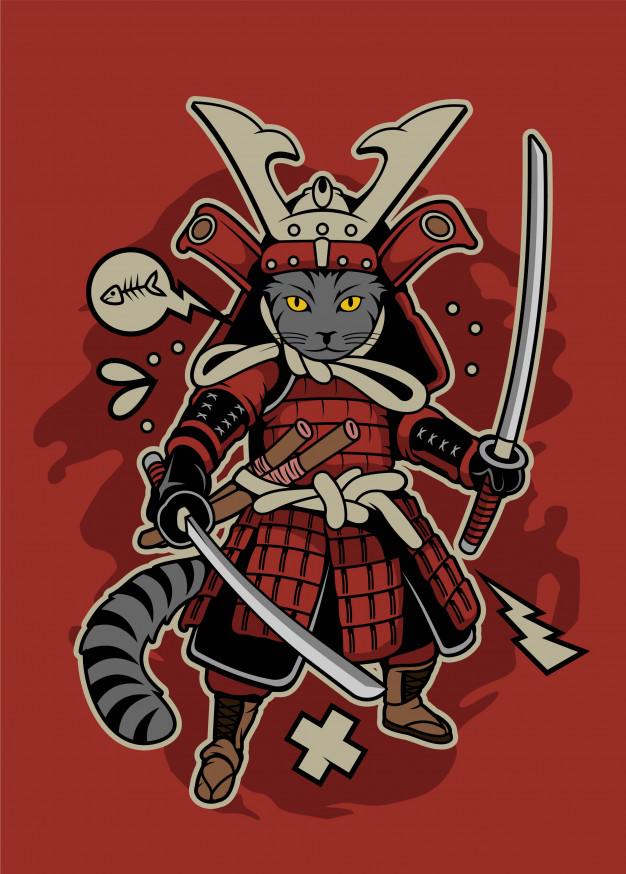 samurai cat 77221 62