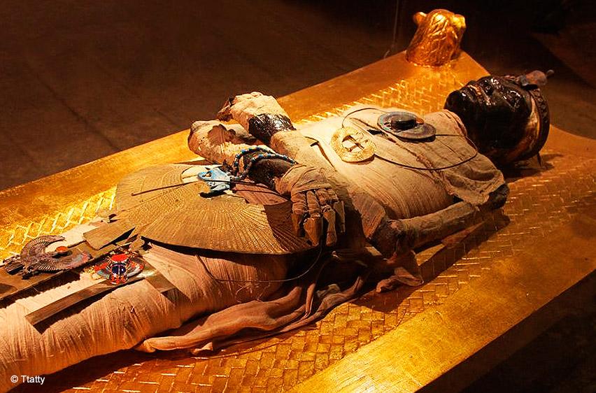 xác ướp vua Tut