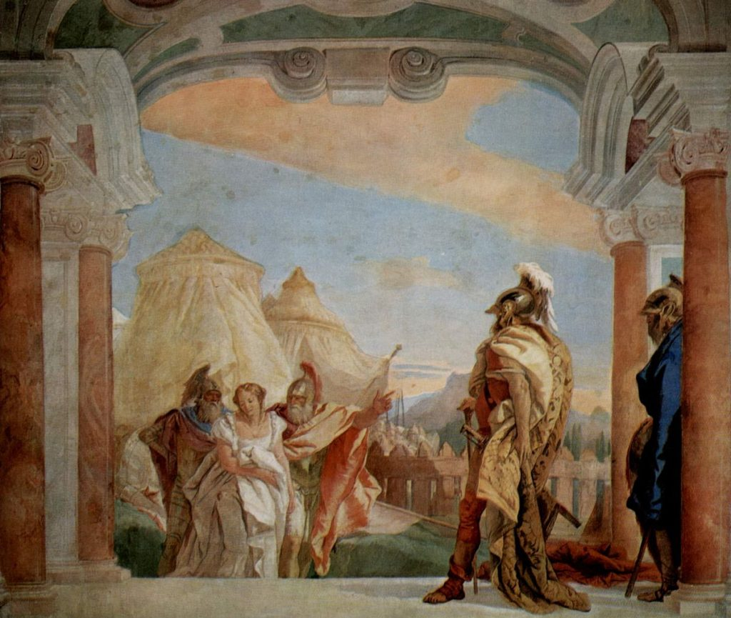 Briseis bị tước khỏi tay Achilles