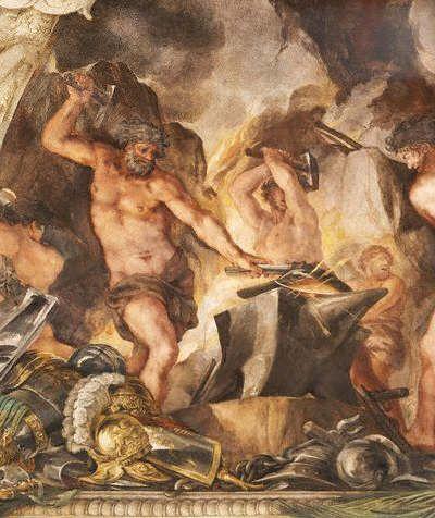 Hephaestus là vị thần của kỹ nghệ
