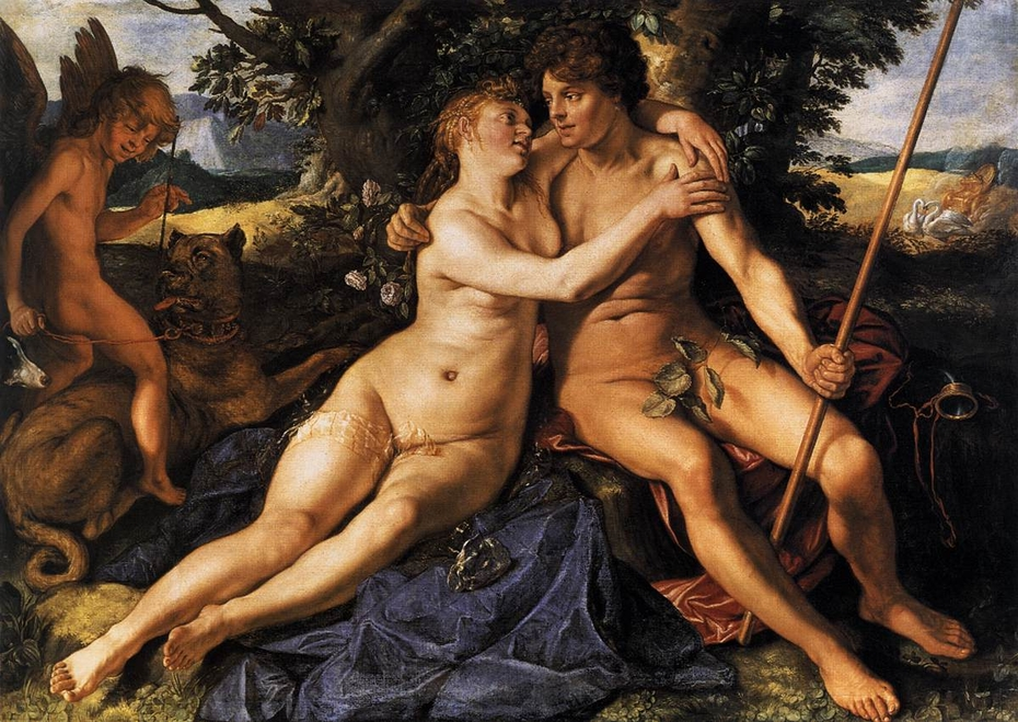 Venus và Adonis