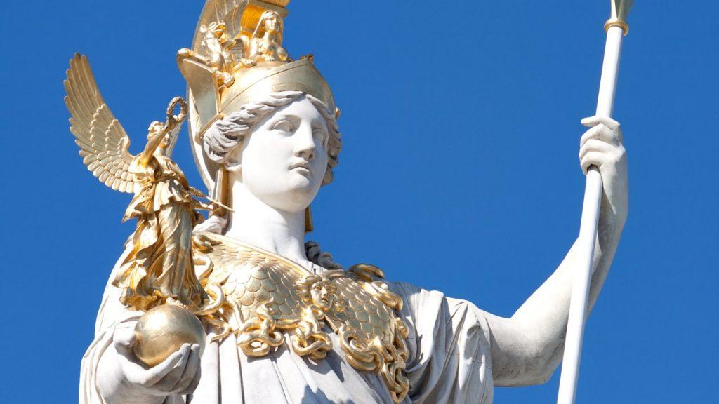 nữ thần trí tuệ Athena